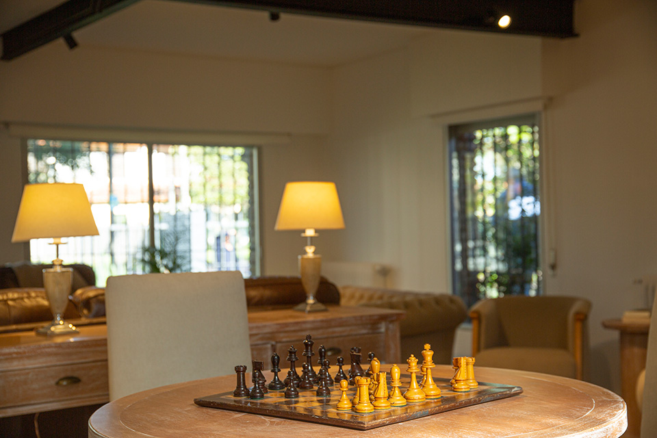 foto basilea suites living
