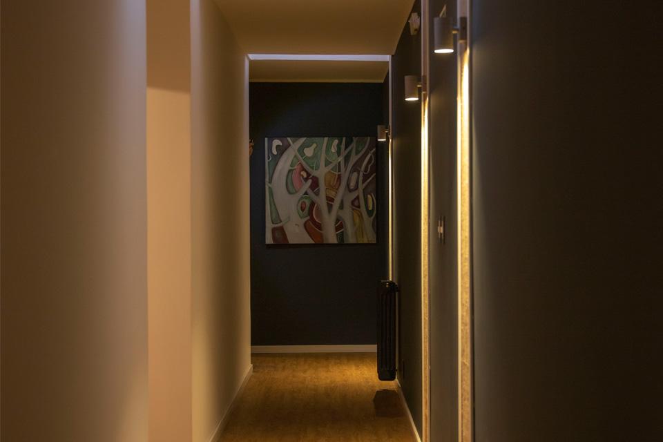 foto basilea suites pasillo